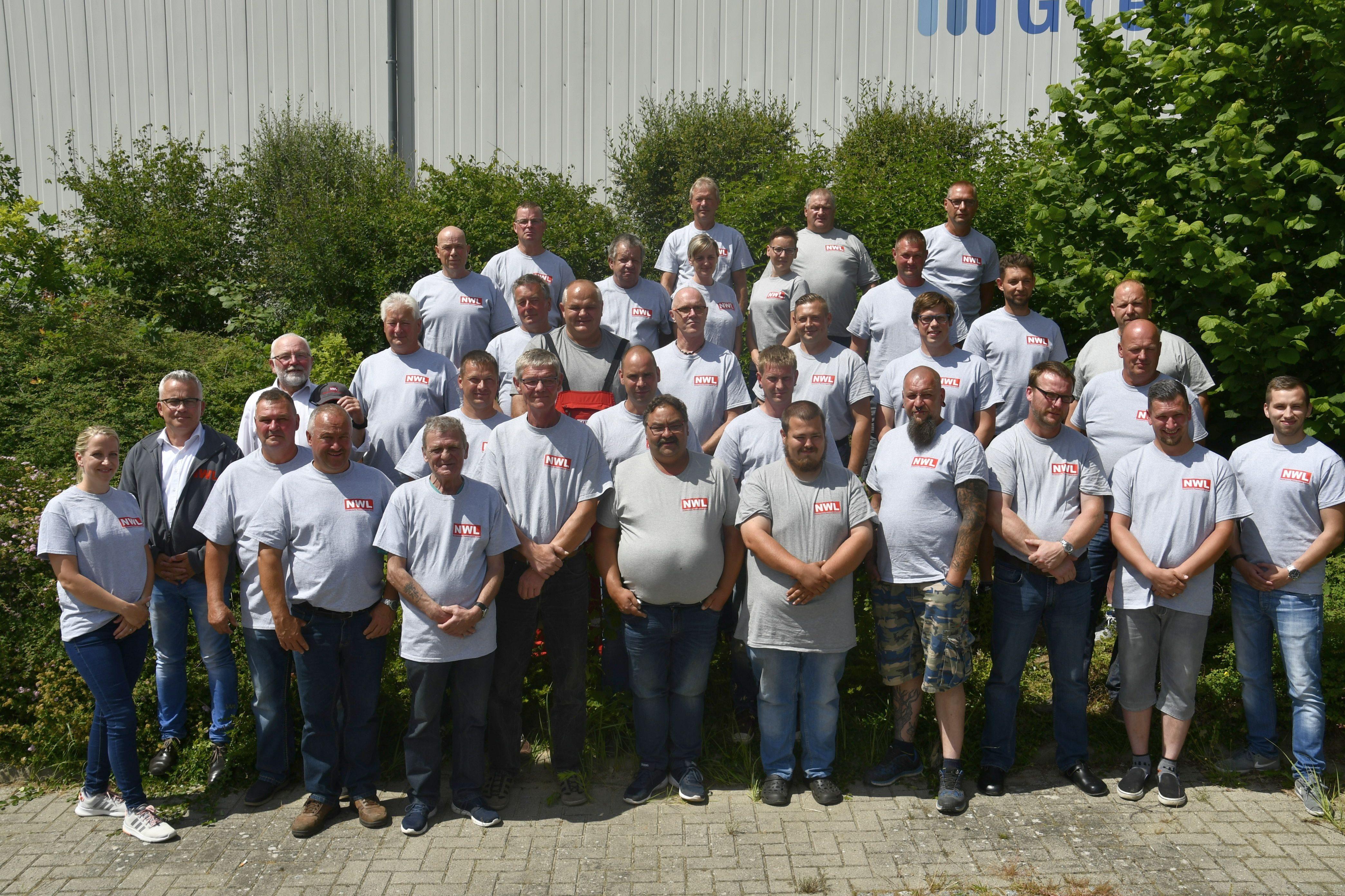 Mitarbeiter Norddeutsche Wasser-Logistik GmbH